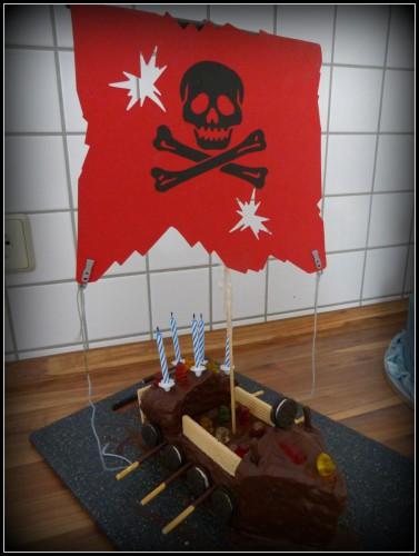 Piratentorte