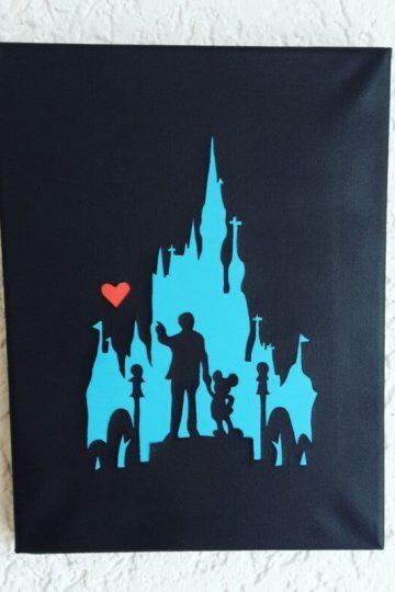 Keilrahmen Disney Mickey Maus