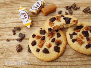 Schoko-Karamell-Cookies