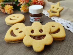 Nutella-Smiley-Kekse mit Gute-Laune-Garantie