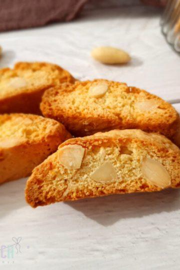 Cantuccini italienisches Gebäck Kekse