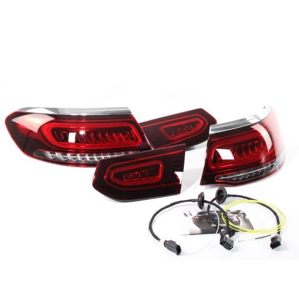 facelift led rear light set glc c253 coupe genuine mercedes benz