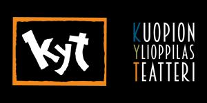 Logo mustalla taustalla