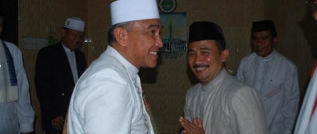 Walikota Depok Idris Abdul Somad hadiri perayaan Maulid di Depok (dok. KM)