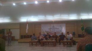 FMB adakan dialog dengan tokoh pejabat tinggi Kabupaten Bogor untuk menilik kemampuan mencapai visi dan misi Kabupaten Bogor (dok. KM)