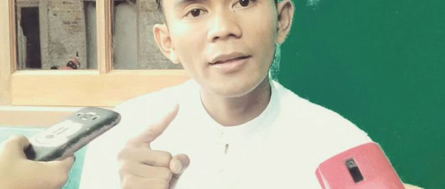 Ketua Forum Mahasiswa Bogor (FMB), Rahmatullah (dok. KM)