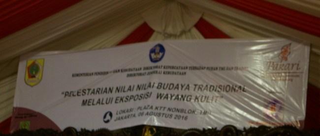 Halal Bihalal PAKARI sekaligus eksposisi wayang kulit di TMII, 6/8 (dok. KM)