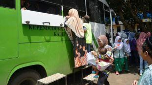 Kendaraan Disdukcapil Kab. Bogor (dok. Irfan/KM)
