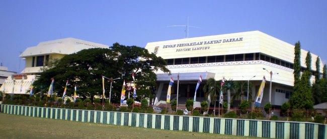 Gedung DPRD Provinsi Lampung (stock)