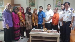 Sejumlah Kepala Dinas dan Kepala RSUD Kabupaten Bogor saat mengunjungi mantan bupati Bogor, Rahmat Yasin, di LP Sukamiskin, Bandung, Rabu 5/7 (dok. KM)