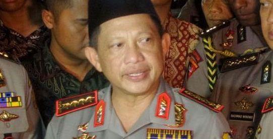 Kapolri Jenderal Tito Karnavian memberikan keterangan persusai rapat dengan Komisi III DPR, Senin 17/7 (dok. KM)