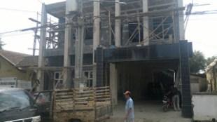 Renovasi terhadap bangunan kantor kepala desa di Desa Citalem, Bandung Barat (dok. KM)