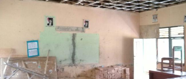 Kondisi ruangan kelas di SDN Singajaya 6, Jonggol, Kabupaten Bogor (dok. KM)