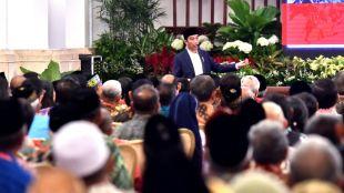 Presiden Joko Widododi Rakornas Forum Kerukunan Umat Beragama (FKUB) Selasa, 28 November 2017, di Istana Negara Jakarta (dok. Setpres)