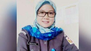 Windi Wijayanti, Staf Sekretariat Divisi SDM dan Organisasi Panwaslu Kota Bogor