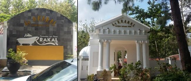 Tampilan pintu masuk Pemandian Air Panas Krakal di Krakal Alian Kebumen tempat Festival de Krakal berlangsung pada hari Minggu 11/11/2018 (dok. KM)