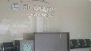 Lobi depan Sekolah SD Amaliah Ciawi, Kabupaten Bogor. (Dok. Tar/KM)