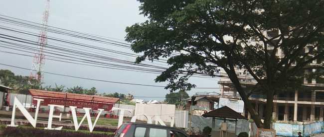 Lokasi proyek apartemen Newton The Hybrid Park di Bandung (dok. KM)