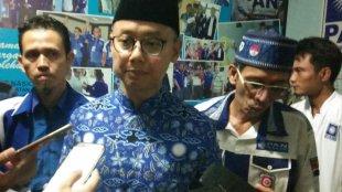 Sekjen DPP PAN Eddy Soeparno di Kantor DPD PAN Kota Bogor, Jumat 17/5/2019 (dok. KM)