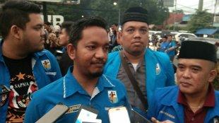 Ketua DPD KNPI Kota Bogor Bagus Maulana Bersama Jajaran Pengurus (dok.KM)