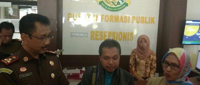 Kepala Kejaksaan Negeri Kota Bogor Yudi Indra Gunawan usai nenerima kunjungan Plt Dirut RSUD Kota Bogor, Senin 24/6/2019 (dok. KM)