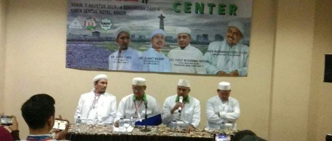 Konferensi Pers Ijtima Ulama 4 di Bogor, 5/8/2019 (dok. KM)