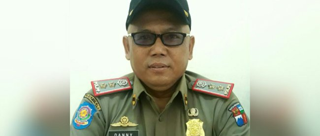 Kabid Gaperda Satpol PP Kota Bogor, Danny Suhendar (dok. KM)