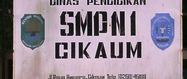 SMPN 1 Cikaum, Subang (dok. KM)