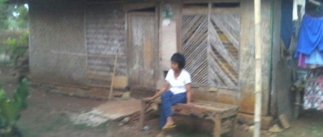 Rumah Darta, warga Pagaden, Subang, yang tidak layak huni (dok. KM)