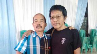 Anggota DPR RI Adian Napitupulu memberikan sosialisasi 4 pilar di kawasan Desa Cijayanti, Kecamatan Babakan Madang, Kabupaten Bogor, Selasa 10/12/2019 (dok. KM)