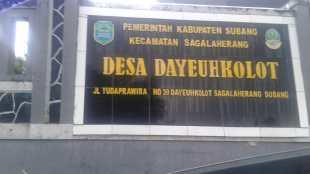 Kantor Desa dayeuhkolot, Kabupaten Subang (dok. KM)