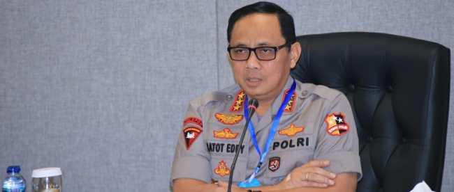 Wakapolri Komjen Pol Dr Gatot Eddy Pramono (dok. KM)