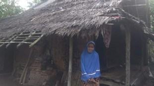Rumah ibu Asmenah, warga Desa Binong, Kecamatan Pamarayan, Serang (dok. KM)