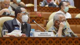 Menteri Perhubungan Budi Karya Sumadi dalam rapat kerja pembahasan RKA K/L T.A 2021 dengan Komisi V DPR RI, Rabu siang 2/9/2020 (dok. BIRO KOMUNIKASI DAN INFORMASI PUBLIK KEMENTERIAN PERHUBUNGAN)