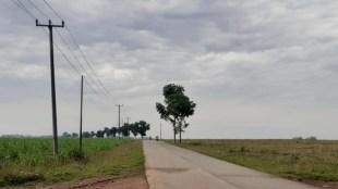 Kondisi jalan alternatif Kecamatan Purwadadi-Kecamatan Ciasem, Subang (dok. KM)