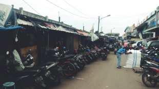 PKL di kawasan Jl Nyi Raja Permas, Kota Bogor (dok. KM)