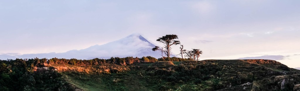 Mt Taranki Am Morgen