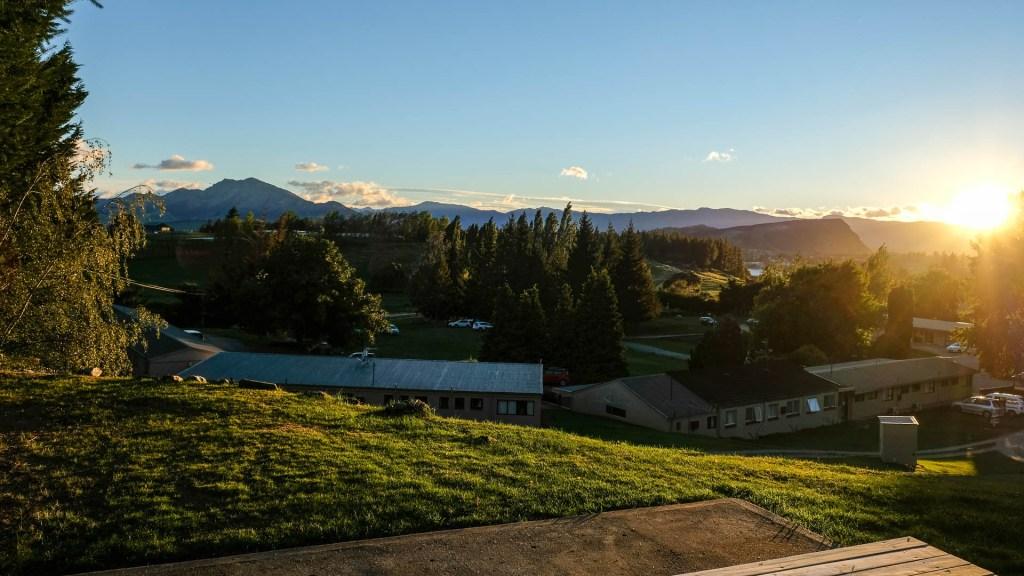 Sicht Vom Campervan In Wanaka