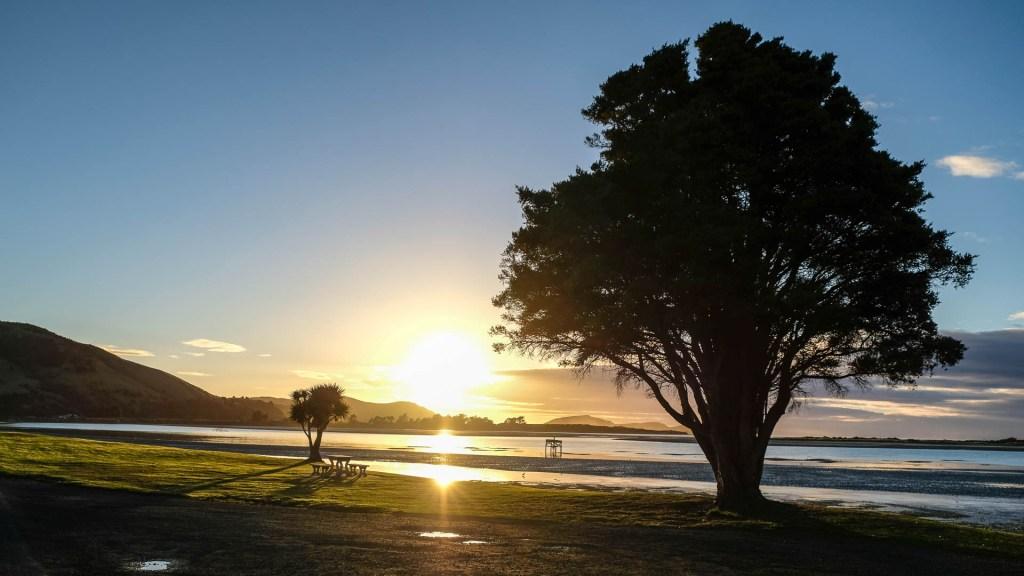 Sonnenaufgang In Pounawea