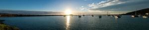 Sonnenaufgang In Oamaru