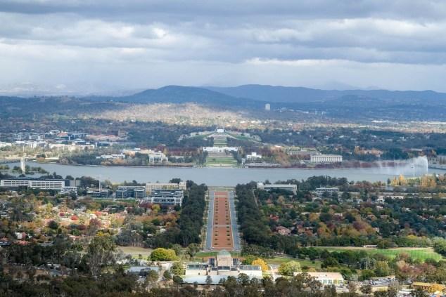 Sicht Auf Canberra