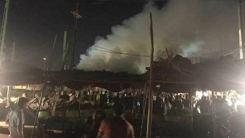 عوامل جمهوری اسلامی بیش از ده نفر را در اهواز، زنده زنده سوزاندند