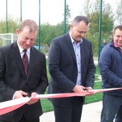 Nowoczesny kompleks sportowy dla uczniów Zespołu Szkół w Rybnie