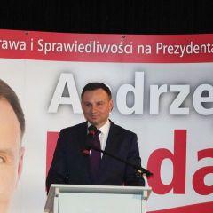 Przedstawiciele wyszkowskiego PiS-u na spotkaniach z Andrzejem Dudą, kandydatem PiS na Prezydenta RP, w Ostrołęce i Pułtusku