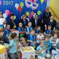 Dyrektor ARiMR z wizytą w łochowskim przedszkolu