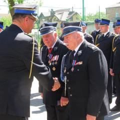 Odznaczenia, awanse i podziękowania za trud codziennej służby dla Strażaków z terenu powiatu wołomińskiego