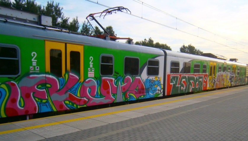 grafiti PKP