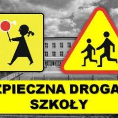 Policjanci drogówki kontrolowali drogi i ich oznakowanie przy szkołach