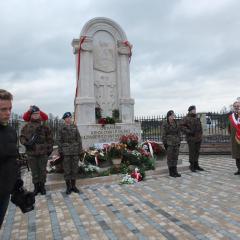 Odsłonięcie pomnika Króla Kazimierza III Wielkiego w Strachówce