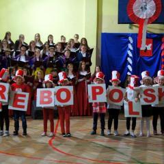 """Widowiskiem  """"DOBRE, BO POLSKIE"""" utalentowana młodzież ze Słupna rozpoczęła obchody """"Roku dla Niepodległej""""!!!"""